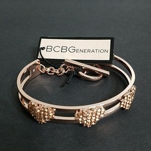 BCBGENERATION Rose Gold Bracelet